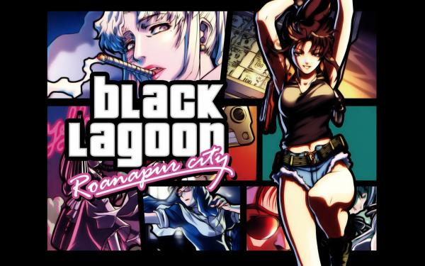 Blacklagoon Wallpaper 01