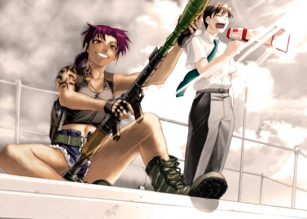 Blacklagoon Wallpaper 03