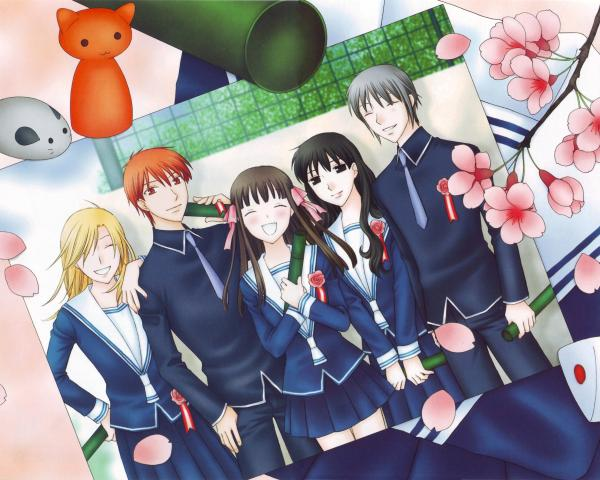 Fruits Basket Wallpaper 04