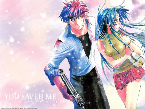 Fullmetalpanic Wallpaper 04