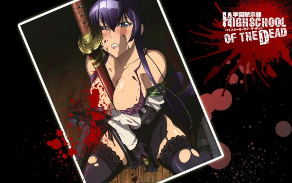 Highschoolofthedead Wallpaper 03