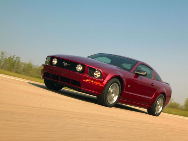2007 Ford Mustang Gt Wallpaper4