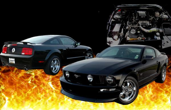 2007 Ford Mustang Gt Wallpaper5