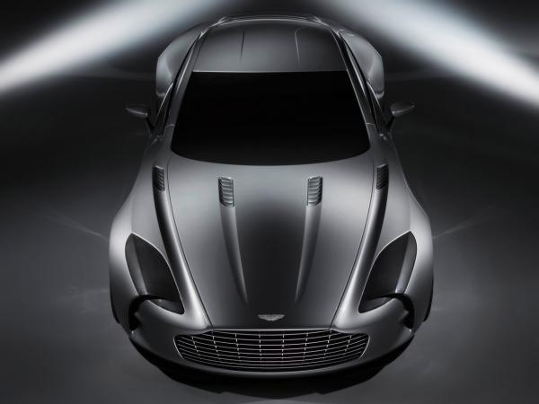 2009 Aston Martin One 77 Front Top 1280x960