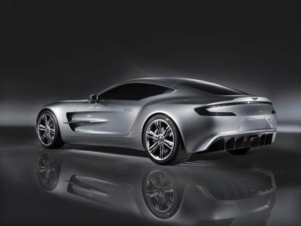 2009 Aston Martin One 77 Rear And Side 1280x960