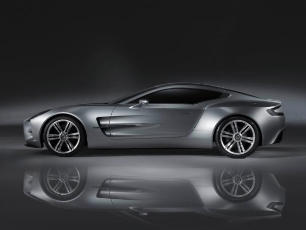2009 Aston Martin One 77 Side 1280x960