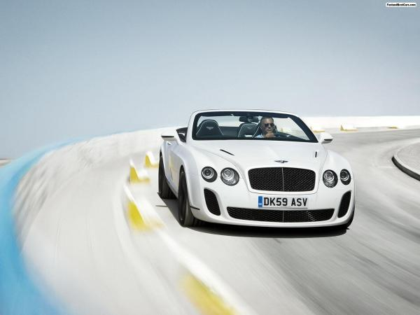 Bentley Continental Supersports Convertible Wallpaper4
