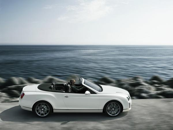 Bentley Continental Supersports Convertible Wallpaper5