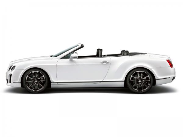 Bentley Continental Supersports Convertible Wallpaper8