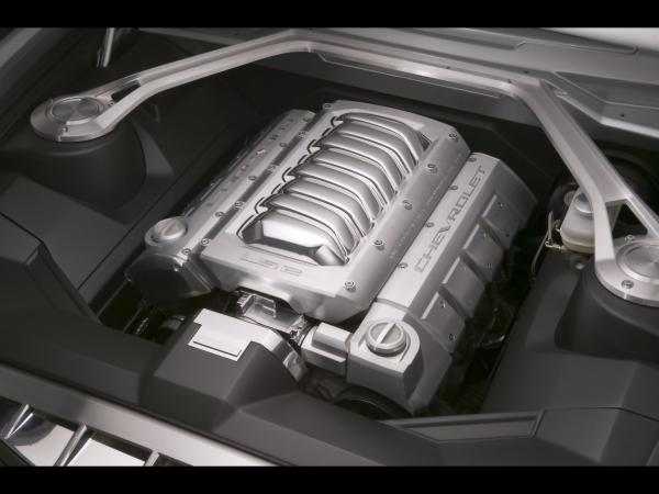 2006 Chevrolet Camaro Concept Engine Compartment 1920x1440