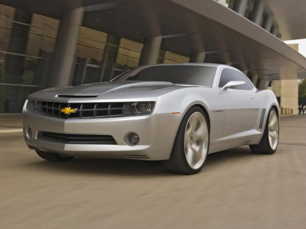 2006 Chevrolet Camaro Concept Fa Speed 1024x768