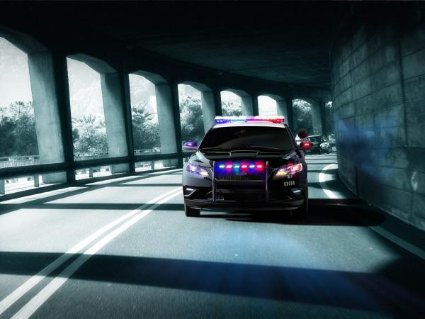 Ford Crown Victoria Police Interceptor Wallpaper1