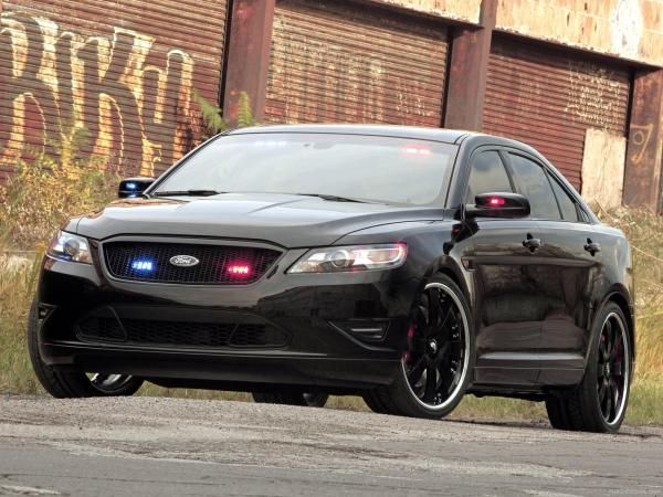Ford Crown Victoria Police Interceptor Wallpaper6