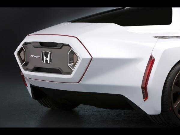 2008 Honda Fc Sport Design Study Rear Section 1920x1440