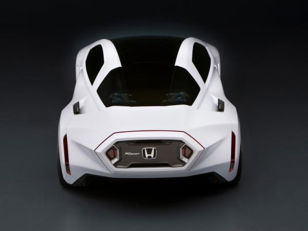 2008 Honda Fc Sport Design Study Rear Top 1920x1440