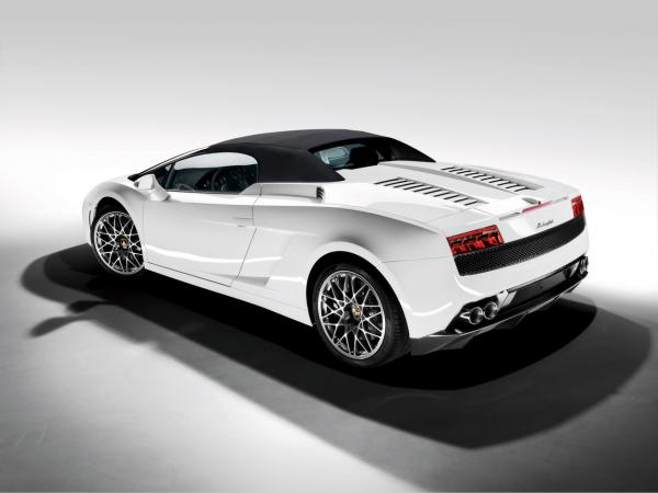 2009 Lamborghini Gallardo Lp 560 4 Spyder Rear And Side Top Up 1280x960