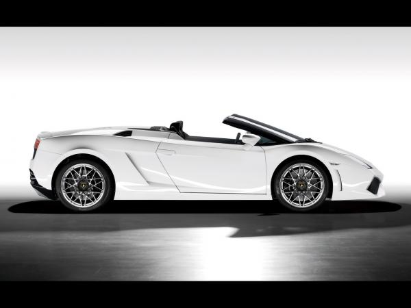 2009 Lamborghini Gallardo Lp 560 4 Spyder Side 1280x960