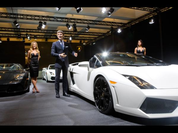 2009 Lamborghini Gallardo Lp 560 4 Spyder World Debut At The Los Angeles Motorshow 2 1024x768