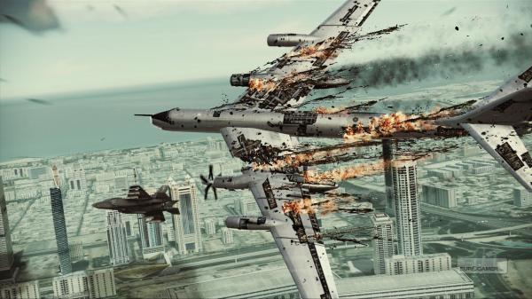 Ace Combat Assault Horizon Wallpaper 01