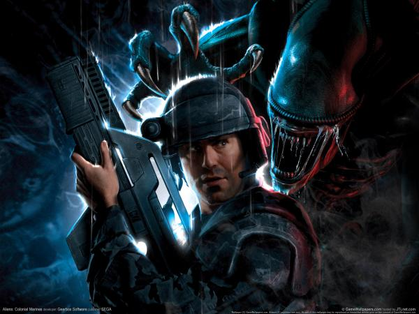 Aliens Colonial Marines Wallpaper 01