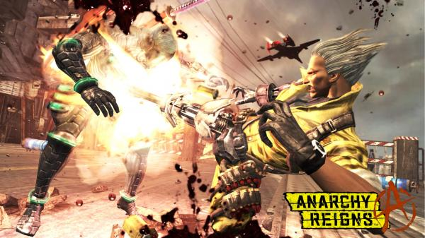 Anarchy Reigns 2012 Wallpaper 01