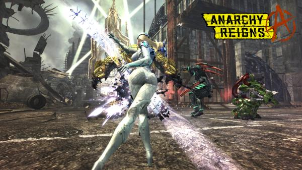Anarchy Reigns Hd Wallpaper 02