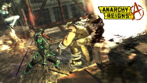 Anarchy Reigns Hd Wallpaper 07