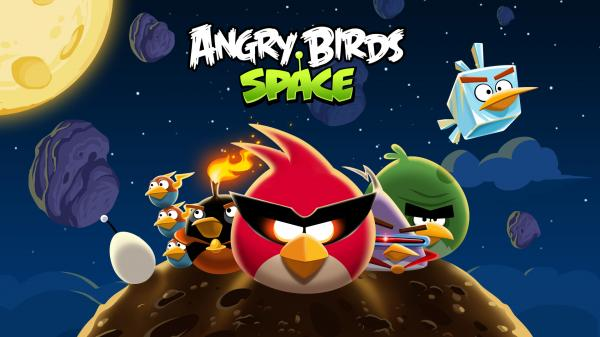 Angry Birds Space Wallpaper 02
