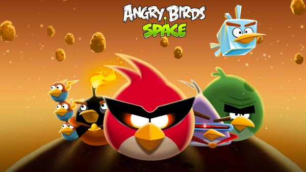 Angry Birds Space Wallpaper 03