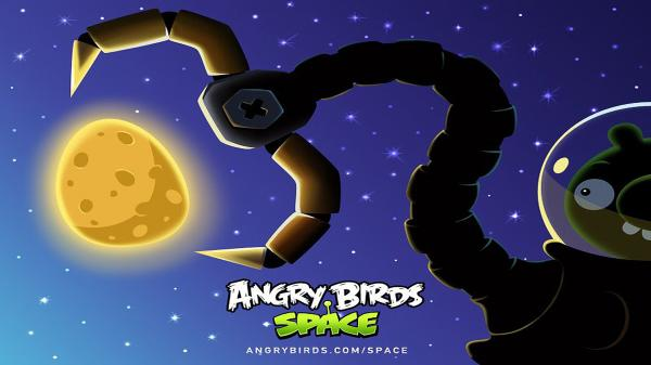 Angry Birds Space Wallpaper 06