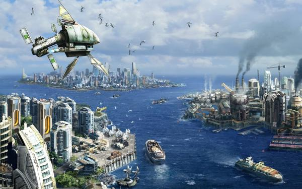 Anno 2070 Wallpaper 1