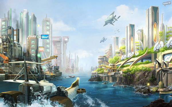 Anno 2070 Wallpaper 3