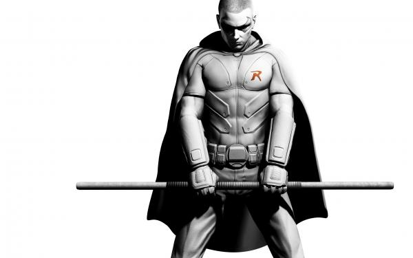 Robin Batman Arkham City Wallpaper