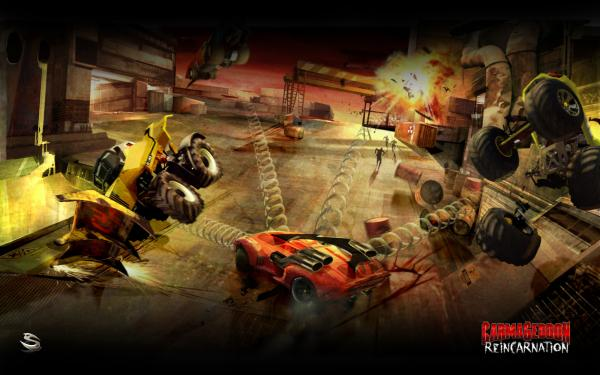 Carmageddon Reincarnation Wallpaper 03