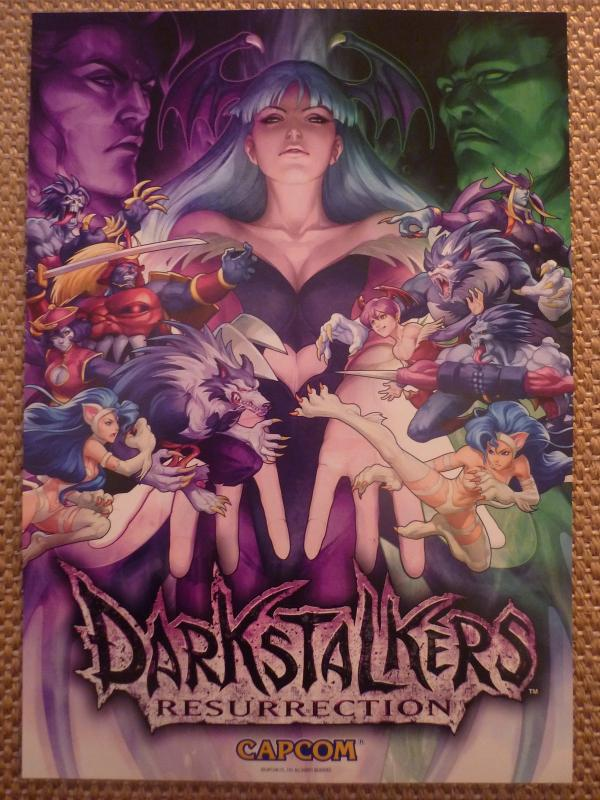 Darkstalkers Resurrection Wallpaper 01