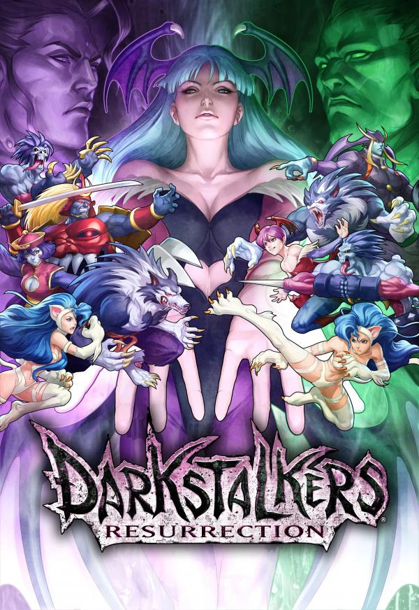 Darkstalkers Resurrection Wallpaper 02