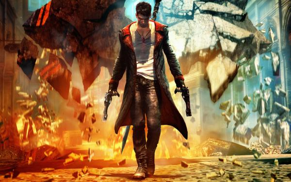 Dmc Devil May Cry Theme Backgrounds 01