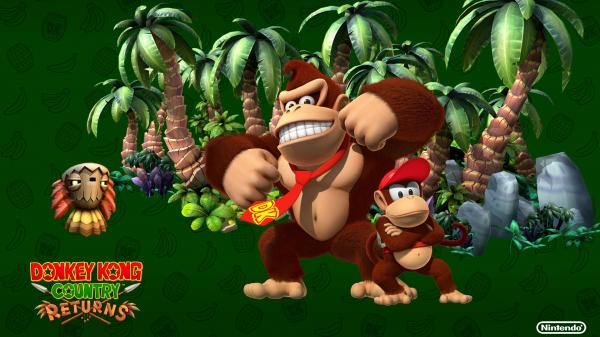 Donkey Kong Country Returns Box Art Wallpaper3