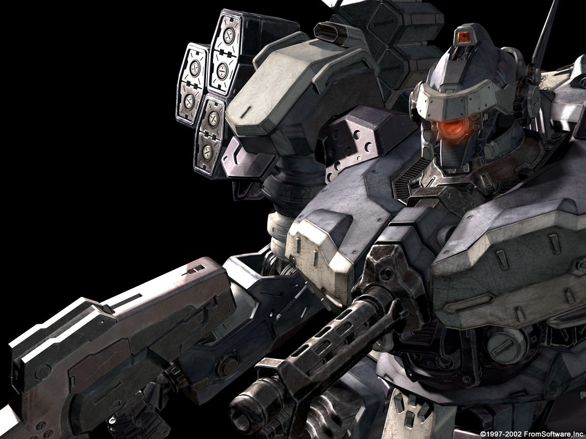 Index Of Wallpaper Cat Games2 Armored Core V Wallpaper