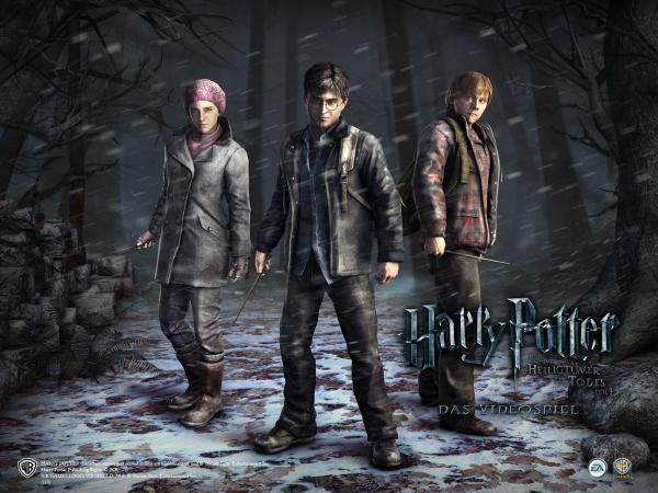 Harry Potter And The Deathly Hallows Wallpaper 1