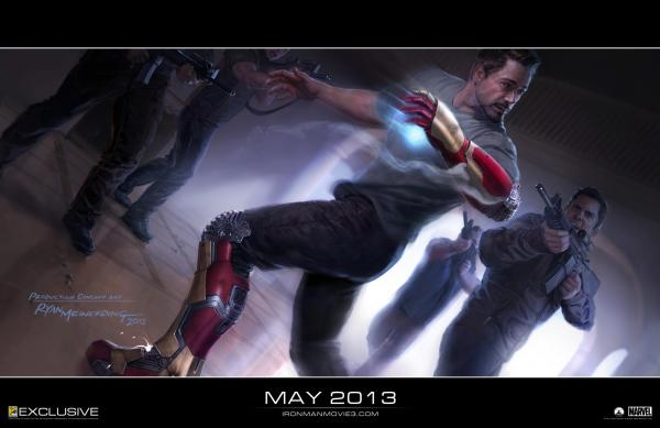 Iron Man 3 Wallpaper 01