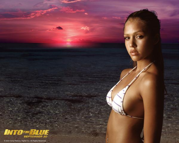 Hot Jessica Alba Wallpaper 05