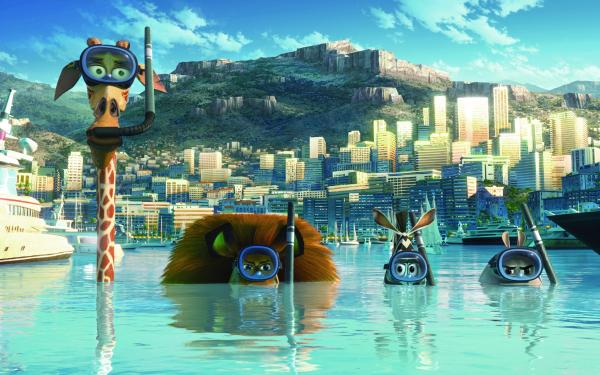 Madagascar 3 Europes Most Wanted Wallpaper 01