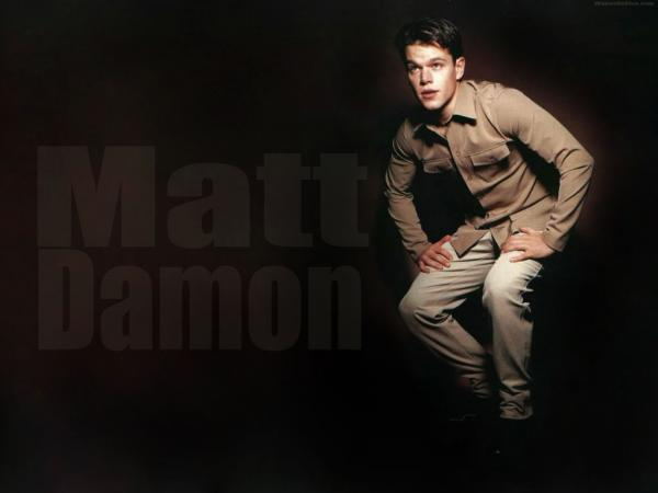 8 Matt Damon Wallpaper