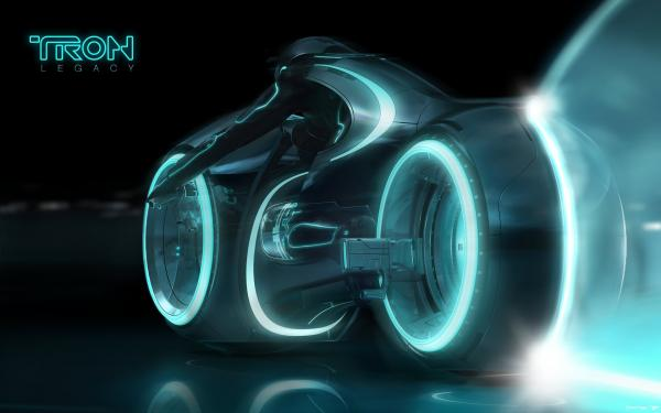 Tron Legacy Light Cycle Wallpapers 1920x1200