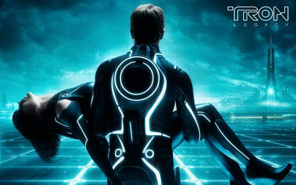 Tron Legacy Wp  Sam And Quorra By Jourmort D357lpq