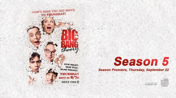 Big Bang Theory Season 5 Wallpaper 1