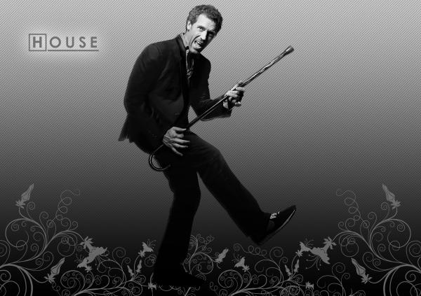 Dr House Wallpaper 02