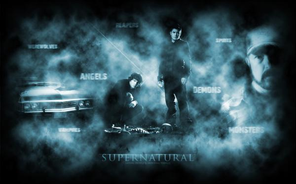 2 Supernatural Wallpaper