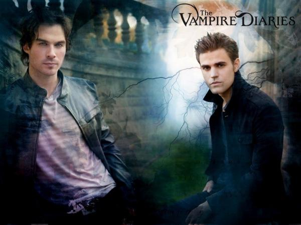 2 The Vampire Diaries Wallpaper